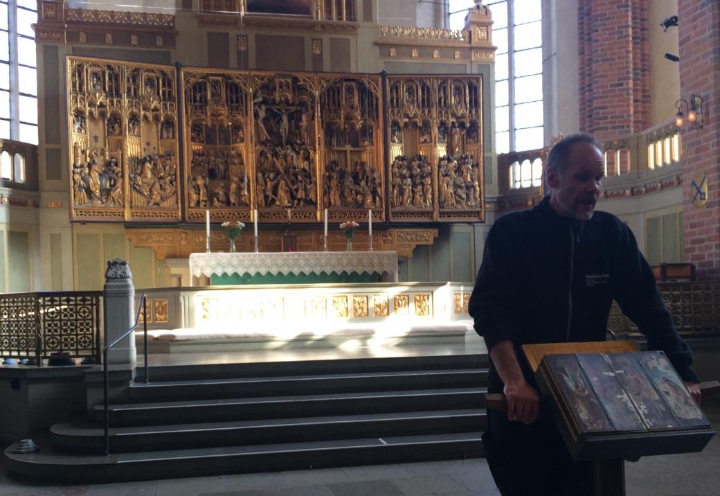 Altarskåpet i Strängnäs